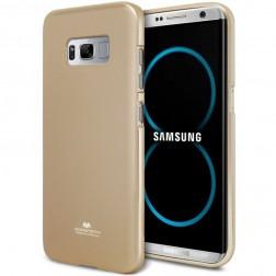 """""""Mercury"""" dėklas - auksinis (Galaxy S8)"""