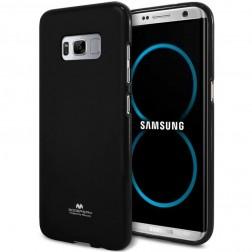 """""""Mercury"""" dėklas - juodas (Galaxy S8)"""