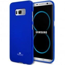 """""""Mercury"""" dėklas - tamsiai mėlynas (Galaxy S8)"""
