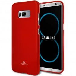 """""""Mercury"""" dėklas - raudonas (Galaxy S8)"""