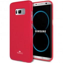 """""""Mercury"""" dėklas - tamsiai rožinis (Galaxy S8)"""