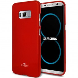 """""""Mercury"""" dėklas - raudonas (Galaxy S8+)"""