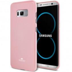 """""""Mercury"""" dėklas - šviesiai rožinis (Galaxy S8+)"""
