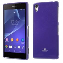 """""""Mercury"""" dėklas - violetinis (Xperia Z2)"""
