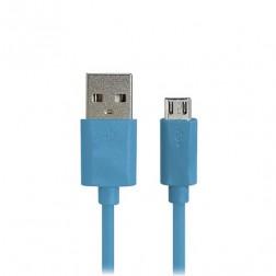 Micro USB 1.0 laidas - mėlynas (1 m.)