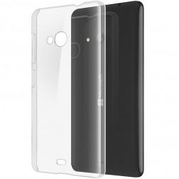 Plastikinis dėklas - skaidrus (Lumia 535)
