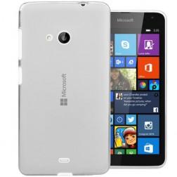 Ploniausias TPU dėklas - skaidrus (Lumia 535)