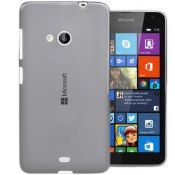 Ploniausias TPU skaidrus dėklas - pilkas (Lumia 535)