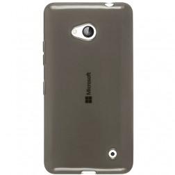 Ploniausias TPU skaidrus dėklas - pilkas (Lumia 640)