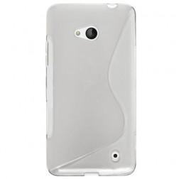 """""""S-Line"""" kieto silikono (TPU) dėklas - skaidrus (Lumia 640)"""