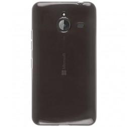 Ploniausias TPU skaidrus dėklas - pilkas (Lumia 640 XL)