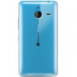 Plastikinis dėklas - skaidrus (Lumia 640 XL)