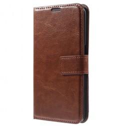 Atverčiamas dėklas - rudas (Lumia 950)