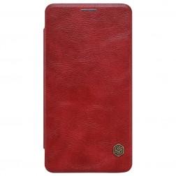 """""""Nillkin"""" Qin atverčiamas dėklas - raudonas (Lumia 950)"""