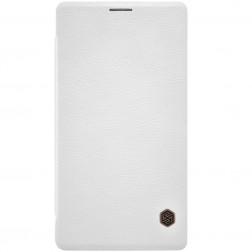 """""""Nillkin"""" Qin atverčiamas dėklas - baltas (Lumia 950 XL)"""