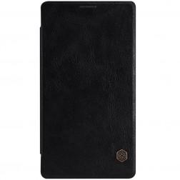 """""""Nillkin"""" Qin atverčiamas dėklas - juodas (Lumia 950 XL)"""