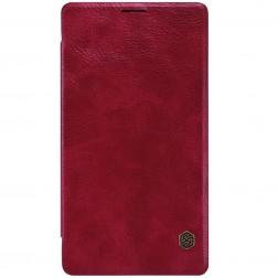 """""""Nillkin"""" Qin atverčiamas dėklas - raudonas (Lumia 950 XL)"""