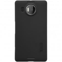 """""""Nillkin"""" Frosted Shield dėklas - juodas + apsauginė ekrano plėvelė (Lumia 950 XL)"""