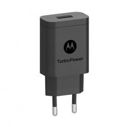 """""""Motorola"""" Turbo Power sieninis įkroviklis - juodas (15W)"""