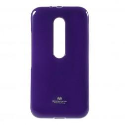 """""""Mercury"""" dėklas - violetinis (Moto G 3 kartos)"""