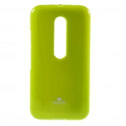 """""""Mercury"""" dėklas - žalias (Moto G 3 kartos)"""