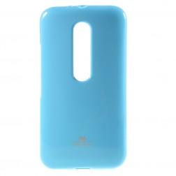 """""""Mercury"""" dėklas - šviesiai mėlynas (Moto G 3 kartos)"""