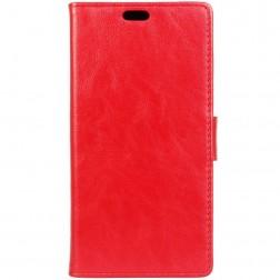 Atverčiamas dėklas, knygutė - raudonas (Moto G4 / Moto G4 Plus)