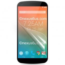 """""""Calans"""" apsauginė ekrano plėvelė - matinė (Nexus 6)"""