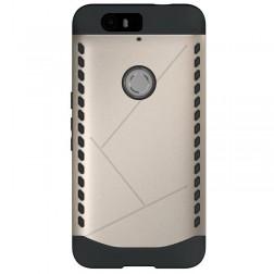 Sustiprintos apsaugos dėklas - auksinis (Nexus 6P)