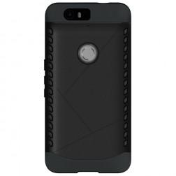 Sustiprintos apsaugos dėklas - juodas (Nexus 6P)