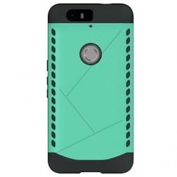 Sustiprintos apsaugos dėklas - mėtinis (Nexus 6P)