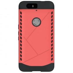Sustiprintos apsaugos dėklas - raudonas (Nexus 6P)