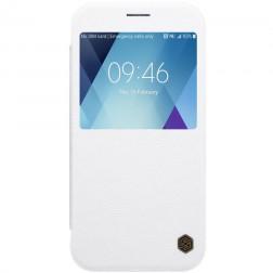 """""""Nillkin"""" Qin atverčiamas dėklas - baltas (Galaxy A5 2017)"""