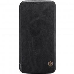 """""""Nillkin"""" Qin atverčiamas dėklas - juodas (Moto G4 / Moto G4 Plus)"""