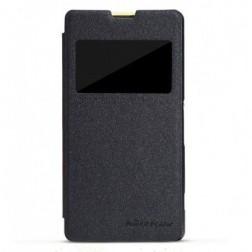 """""""Nillkin"""" Fresh atverčiamas dėklas - juodas (Xperia Z1 Compact)"""