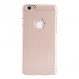 """""""Nillkin"""" Frosted Shield dėklas - auksinis + apsauginė ekrano plėvelė (iPhone 6 / 6s)"""