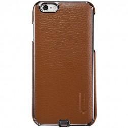 """""""Nillkin"""" N-JARL Wireless dėklas su belaidžio įkrovimo funkcija - rudas (iPhone 6 / 6s)"""