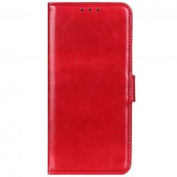 Atverčiamas dėklas, knygutė - raudonas (Nokia 1.3)