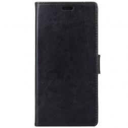 Atverčiamas dėklas, knygutė - juodas (Nokia 1)