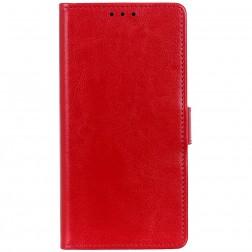 Atverčiamas dėklas, knygutė - raudonas (Nokia 2.3)