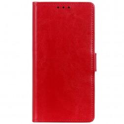 Atverčiamas dėklas, knygutė - raudonas (Nokia 2.4)