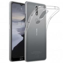 Kieto silikono (TPU) dėklas - skaidrus (Nokia 2.4)