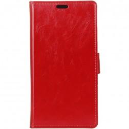 Atverčiamas dėklas, knygutė - raudonas (Nokia 2)
