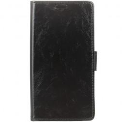 Atverčiamas dėklas, knygutė - juodas (Nokia 2)