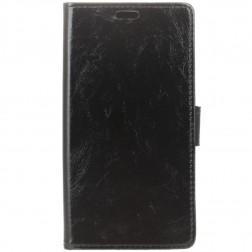Atverčiamas dėklas, knygutė - juodas (Nokia 3.1 Plus 2018)