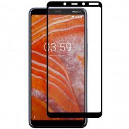 """""""Hat-Prince"""" Tempered Glass apsauginis ekrano stiklas 0.26 mm - juodas (Nokia 3.1 Plus 2018)"""