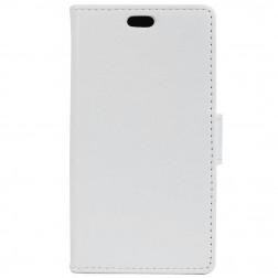 Atverčiamas dėklas, knygutė - baltas (Nokia 3)