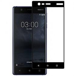 """""""Imak"""" Tempered Glass pilnai dengiantis apsauginis ekrano stiklas 0.2 mm - juodas (Nokia 3)"""