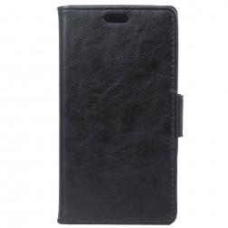 Atverčiamas dėklas, knygutė - juodas (Nokia 3)