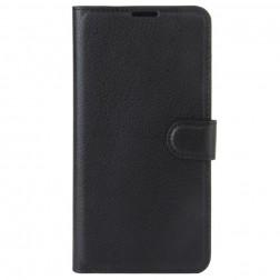 """""""Litchi"""" atverčiamas dėklas, knygutė - juodas (Nokia 3)"""